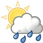 Sooke weather icon, from https://commons.wikimedia.org/wiki/File:Weather-sun-clouds-rain.svg