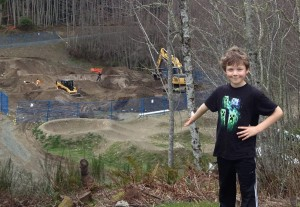 Calvin Smith is one of the many Sooke youth excited to ride the park. Photo from SEAPARC