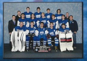 Sooke Midget A Ice Hockey Team 2014/15