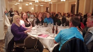 Business Excellence Awards Gala's full house! From The Chamber's Facebook page.
