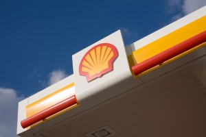 Shell Station in Sooke closed for the day.