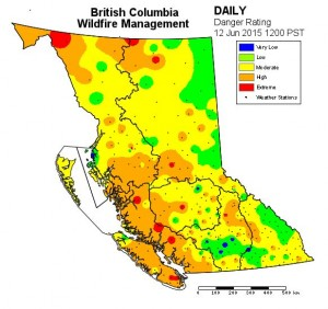 June 12, 2015 from BCWildFire.com