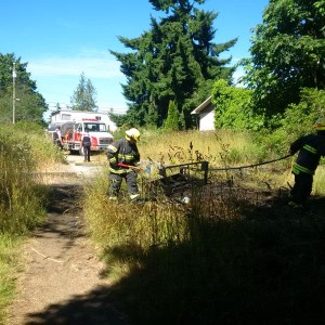 Photo from Sooke's Fire Chief's Twitter stream.