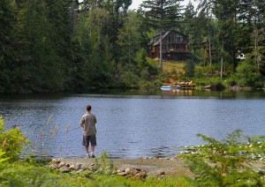 Submitted Photo. Click to read the article on Poirier Lake, where this photo was taken.