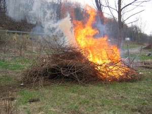 Open burning in Sooke is not permitted until Oct 1