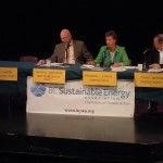 Three of four candidates appeared at the Sooke Climate Change Debate
