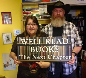 Sooke bookstore Well Read Books with Shannon and Dave