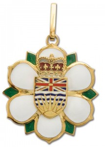 Order of BC medallion