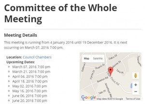 This information is INCOMPLETE. The Next COW meeting is tonight, 6 pm, Council Chambers.