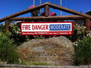 Sooke Moderate Fire Rating