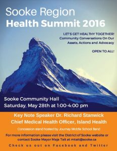 Sooke Region Health Summit May 28 2016-2