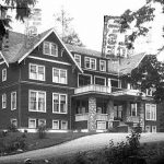 Property of the University of Washington Libraries, Special Collections Division Belvedere Hotel Sooke from UER dot ca
