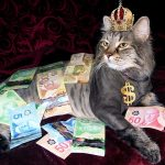 Fat cat, wealthy money