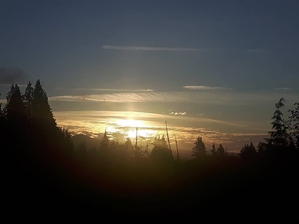 Sooke sunrise, from Cherly Dinse