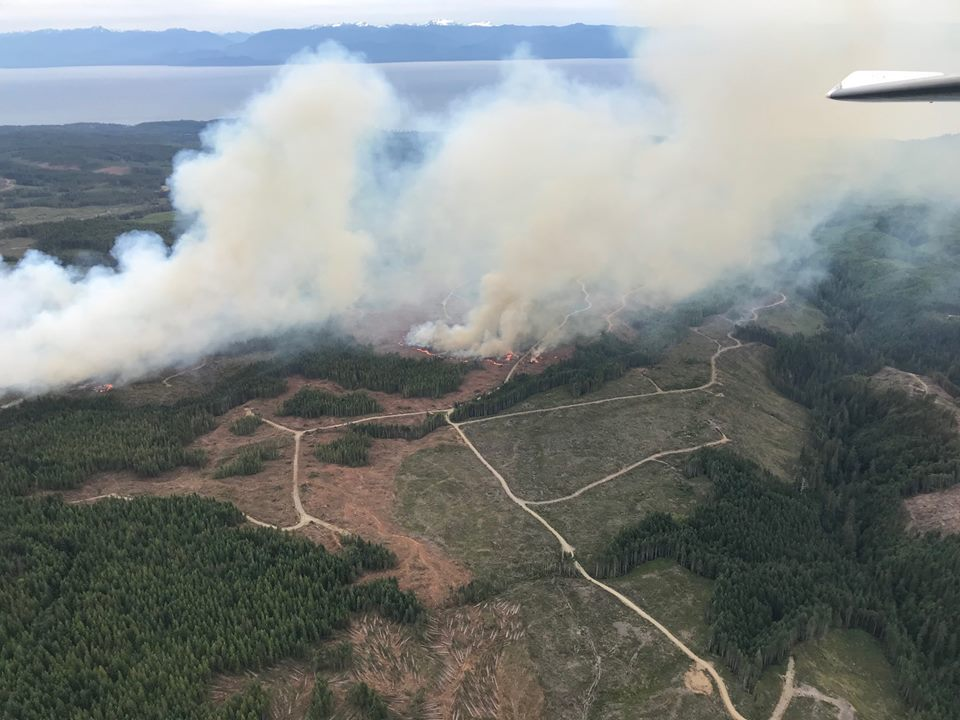 Tugwell Fire update from BC Wildfire Service July 4 6pm