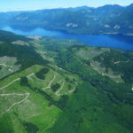 Aerial photographs of southern Vancouver Island taken by Sierra Club BC Senior Forest and Climate Campaigner Jens Wieting in July 2018.
