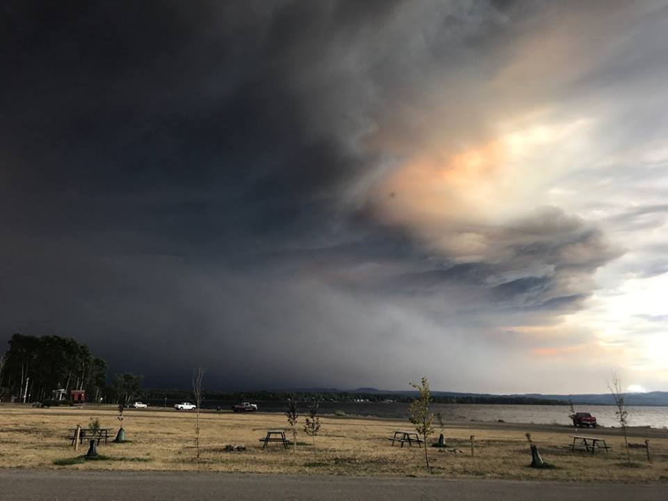 Fires On Vancouver Island Update