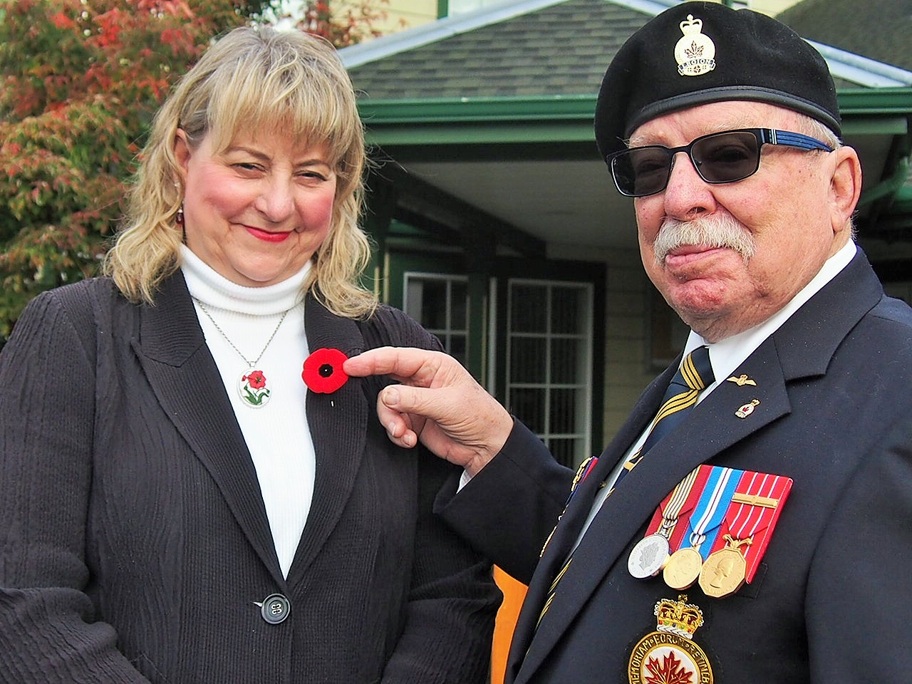 Brenda Parkinson and Tom Lott, Sooke PocketNews Photo