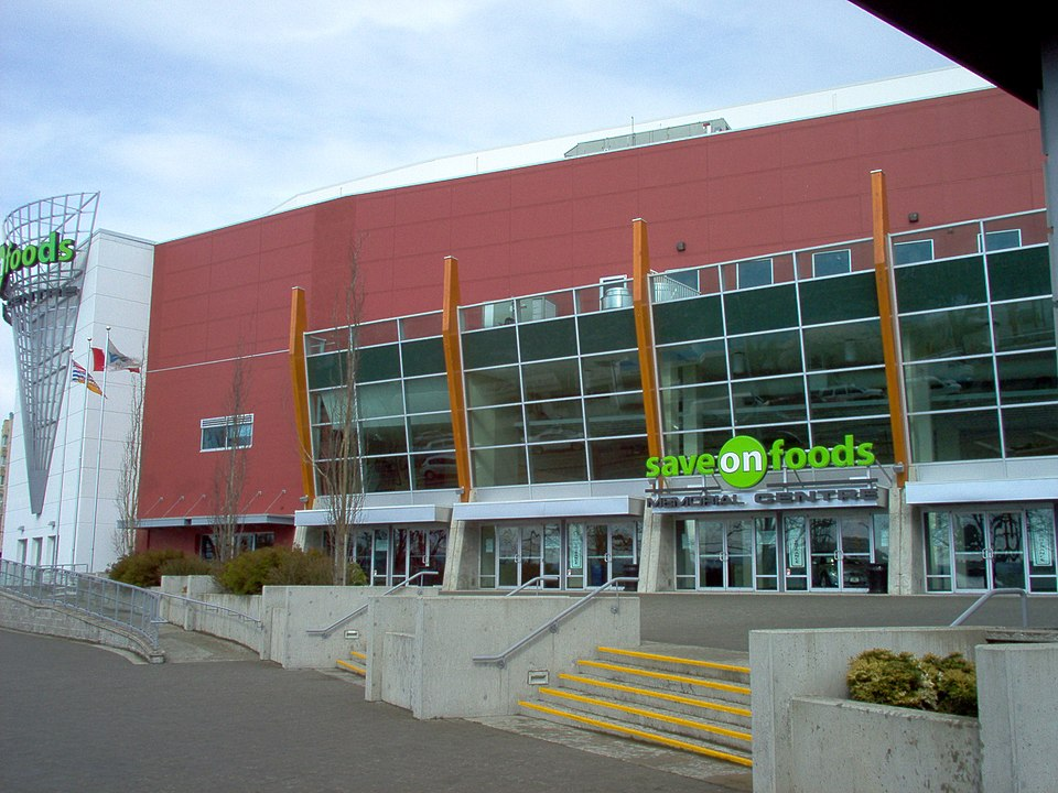 Save On Foods Memorial Arena, Victoria BC